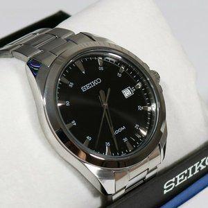 Seiko Stainless Steel 42mm Men's Watch